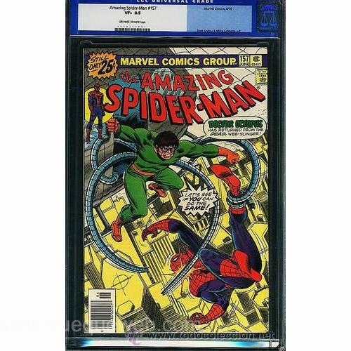 Imagen de AMAZING SPIDERMAN #157 ORIGINAL COMIC USA CGC 8.5